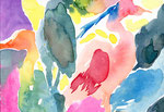 """""""drawing1514"""" watercolor,paper 14.8×21  2015"""