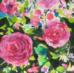 """散歩""  acrylic on canvas 33.3×33.3cm,2008"