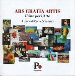 "Copertina Libro d'Arte ""Ars Gratia Artis"" a cura di Carla Grassano"