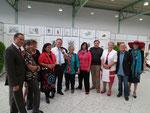 Die Künstler von Cult Art Gallery mit LH Hans Niessl