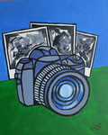 """""""Fotografie"""",Acryl auf Karton,29x23,2014"""