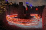 Speed of light - Lichtlauf durch den Emscher Landschaftspark - 5.10.2013