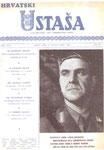 """Slika 507 - Novine """"Hrvatski Ustaša"""", objavljen u Buenos Ariesu, 10. travnja 1960,"""