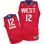 Баскетбольная майка НБА свингмен ALL STAR GAME №12 ДУАЙТ XОВАРД цена 2499 руб.