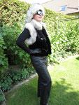Modell Tina - geschorenes Kanin + Blaufuchs