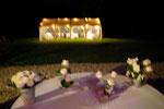 Barnum vue de la terrasse la nuit