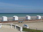 Cabines de plage à Criel sur Mer