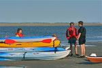 Kayak en Baie de Somme