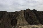 Kippe Welzow Süd. Wegen des Tagebaus wurden 17 Dörfer mit rund 3500 Einwohnern devastiert, also umgesiedelt