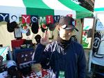 毎年お世話になっている東京よみうりCCの幹部さんもご利用頂いています♪ (この大会から新たなデザインとなったコースオリジナルキャップにVC3を装着!大会期間中もご利用頂いたようです・・・)