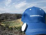 武蔵野ゴルフクラブ様のオリジナルキャップにVC3を装着♪ 桜に囲まれる頃にまたお訪ねしたいクラブです♪
