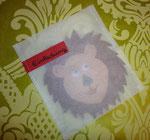 Löweneinladungen zum 2. Gebrutstag mit Backpapierhälle