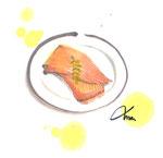 """土崎あたりで食べられる""""かすべ""""(エイのひれ)"""