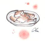 """県民魚""""はたはた""""を押し寿司にした""""はたはた寿司"""""""