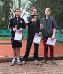 1. Maximilian Ament (li) 2. Moritz Kipper (re) 3. Jesko Bahlke (mi)