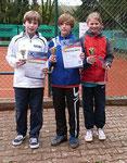 1. Lotte Kaiser (re) 2. Falk Weber (mi) 3. Maxime Gottlieb (li)