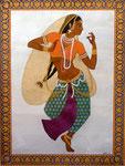 Inderin, tanzend, 36x46