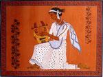 Griechischer Junge mit Harfe, 36x46