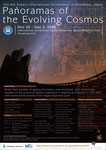 第6回 すばる望遠鏡 国際会議「The 6th Subaru International Conference in Hiroshima, Japan Panoramas of the Evolving Cosmos」ポスター
