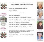 Eintrittskarte (designed by chrisula) und Programm