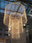 Weihnachtsbeleuchtung im Millenium-Tower