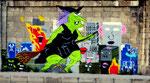 *Die Musik-Hexe* - Graffiti am Donaukanal *Thema vom FotoCorner im SK*