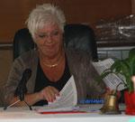 Anita Pinter (chiarapi) beginnt die Lesung