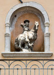 Sulmona, San Giorgio, palazzo Giovanni dalle Palle