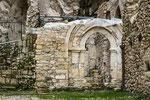 San Martino in Valle, il portale della chiesa