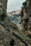 San Martino in Valle, veduta di Castiglione Messer Raimondo fuori della valle