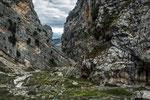 San Martino in Valle, la tormentata geologia della valle