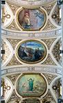 Pratola Peligna, affreschi del soffitto della chiesa