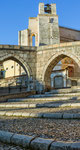 Sulmona, l'acquedotto e San Francesco della Scarpa