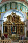 Santa Maria delle Grazie, altare ligneo
