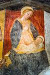 Isola del Gran Sasso, Cona di San Sebastiano Madonna con Bambino
