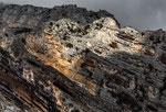 San Martino in Valle, le scoscese pareti della valle