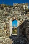 Gessopalena Vecchia, il campanile della chiesa di Santa Maria dei Raccomandati