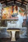 Isola del Gran Sasso, Cona di San Sebastiano interno