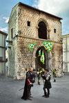 Sulmona, porta Napoli