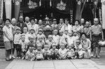 昭和30年ごろ 鳥越祭 玉姫保育園の園児と先生を招いて