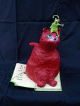 Le petit chat un peu rond rouge et la souris verte (vendue