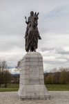 Banockburn Statue von Robert the Bruce