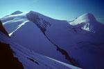 Strahlhorn 4190 m und Adlerhorn 3987 m - Tele -
