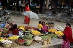 Marktszene in Kathmandu