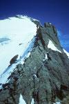 Letzter Blick zum Gipfel.