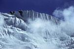 Fortsetzung der Traum - Eiswand  im Imjatal