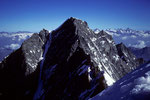 Dom mit 4545  der höchste Gipfel auf schweizer Boden