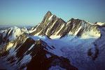 Finsteraarhorn 4274 m höchster Gipfel der Berner Alpen