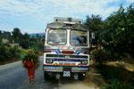 Bustour als erste Etappe