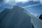 Roccia Nera  4075 m mit Wächten